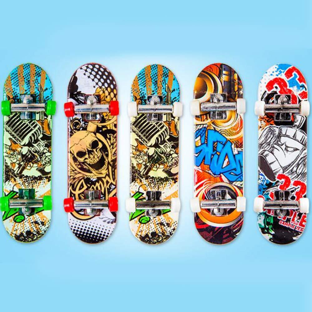 Partygeschenk Kungfu Mall 1pc Finger Skateboard und 2pcs Canvas Mini Sneaker Schuh f/ür Kindergeburtstage