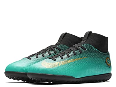 9a75e3fc14a6 Nike Junior Superfly 6 Club Cr7 Tf Football Boots Aj3088 Soccer Cleats:  Amazon.co.uk: Shoes & Bags