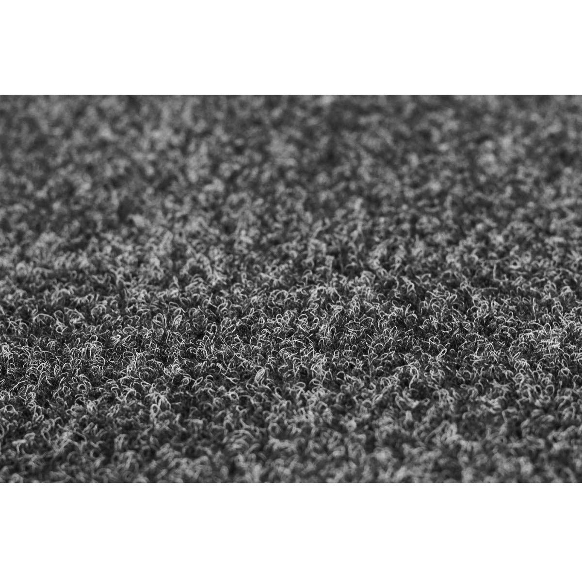 Rasenteppich Rasenteppich Rasenteppich Kunstrasen mit Noppen 1.550 g m² - Rot Blau Grau Braun Beige oder Anthrazit   Nadelfilz Meterware   wasserdurchlässig   Balkon Terrasse Camping, Farbe Anthrazit, Größe 400 x 150 cm B00IACS8M2 Teppiche ec7866
