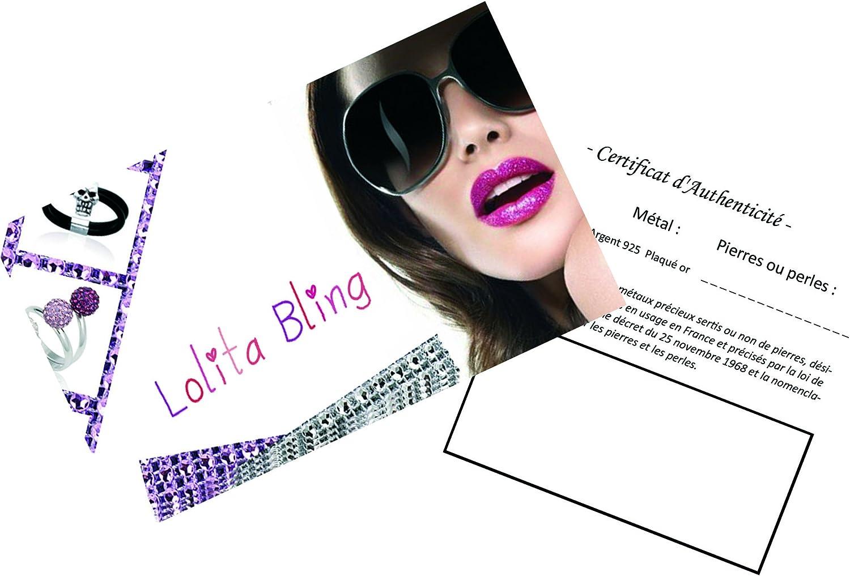 Neuf Lolita-Bling Pendentif Kabyle Plaqu/é Or 750//000