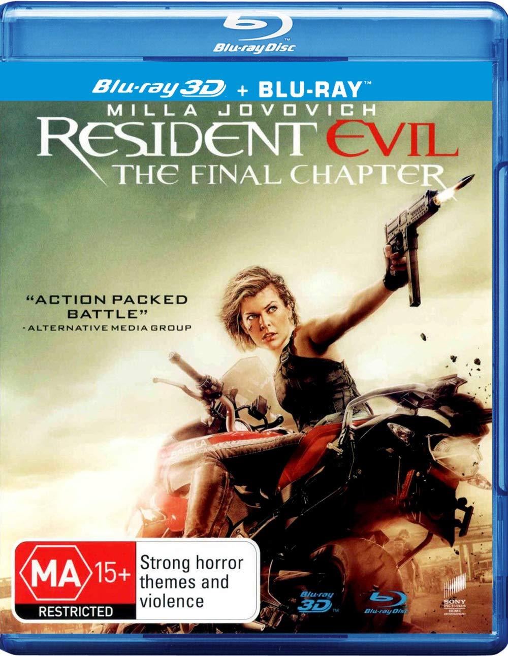 Resident Evil: The Final Chapter 3D/Bd Uv Edizione: Australia ...