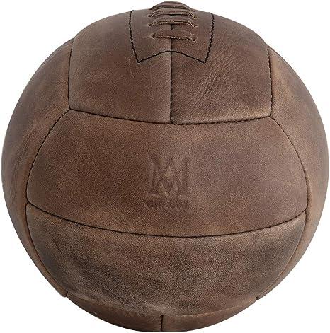 Authentic Models - Balón de fútbol (Piel), diseño Vintage: Amazon ...