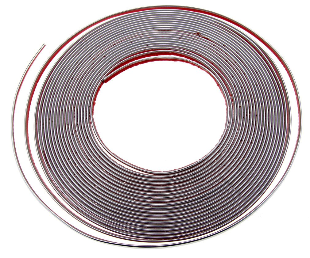 Chrome Styling Moulding Trim Strip 12mm x 15M For Cars Van Vehicles Micro Trader