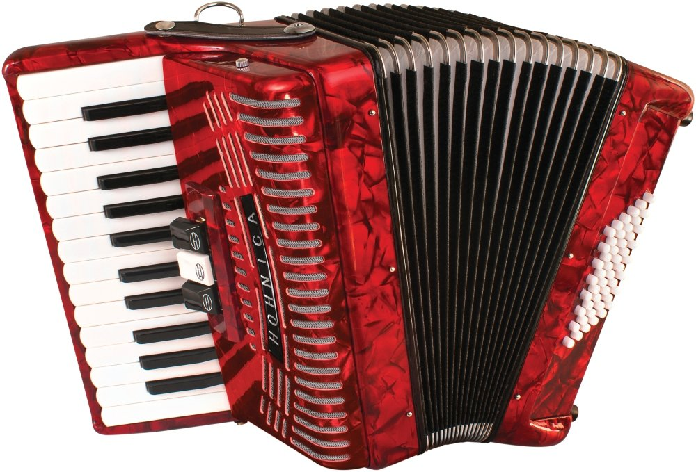 Hohner Accordions 1304-RED by Hohner Accordions