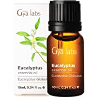 Gya Labs Eucalyptus Essential Oil - Body Booster for Easy Breathing & Stress Relief...
