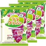 マンナンライフ 蒟蒻畑ララクラッシュぶどう味 24g×8個×3袋