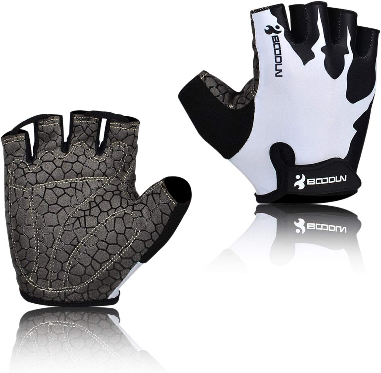 Safe Sport Cycling Gloves Half Finger Bicycle Gel Pad MTB Road Bike Racing Glove