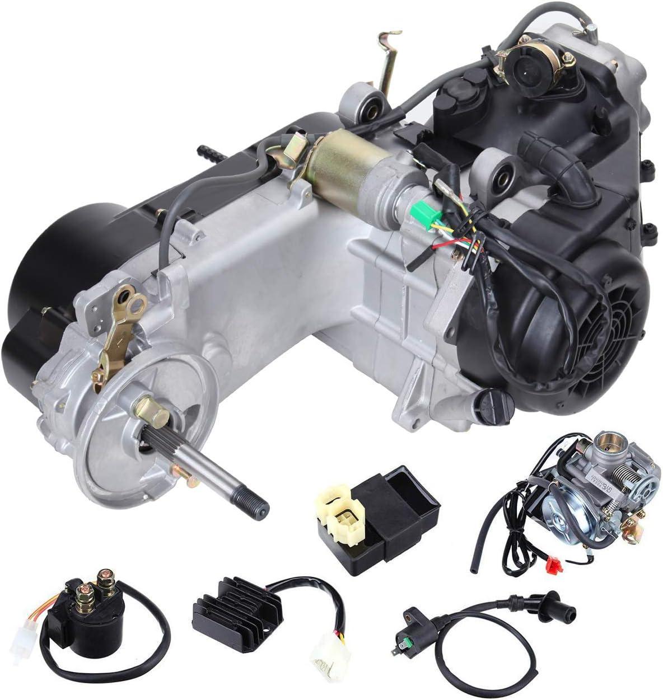 Samger Motor Komplett 150cc Motor Gy6 Go Karts Cvt Motor Auto