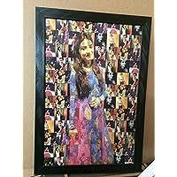 Chitransh Personalised Mosaic Photo Frame(12 x 18 inches)