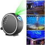 Projector Light ,Kingtoys LED Projection Romantic Night lamp , Blue Star Light Suitable for Birthday Parties, Family Party, KTV, Dance Halls, Clubs, Bars, Karaoke , Kids Party, Dance Floor