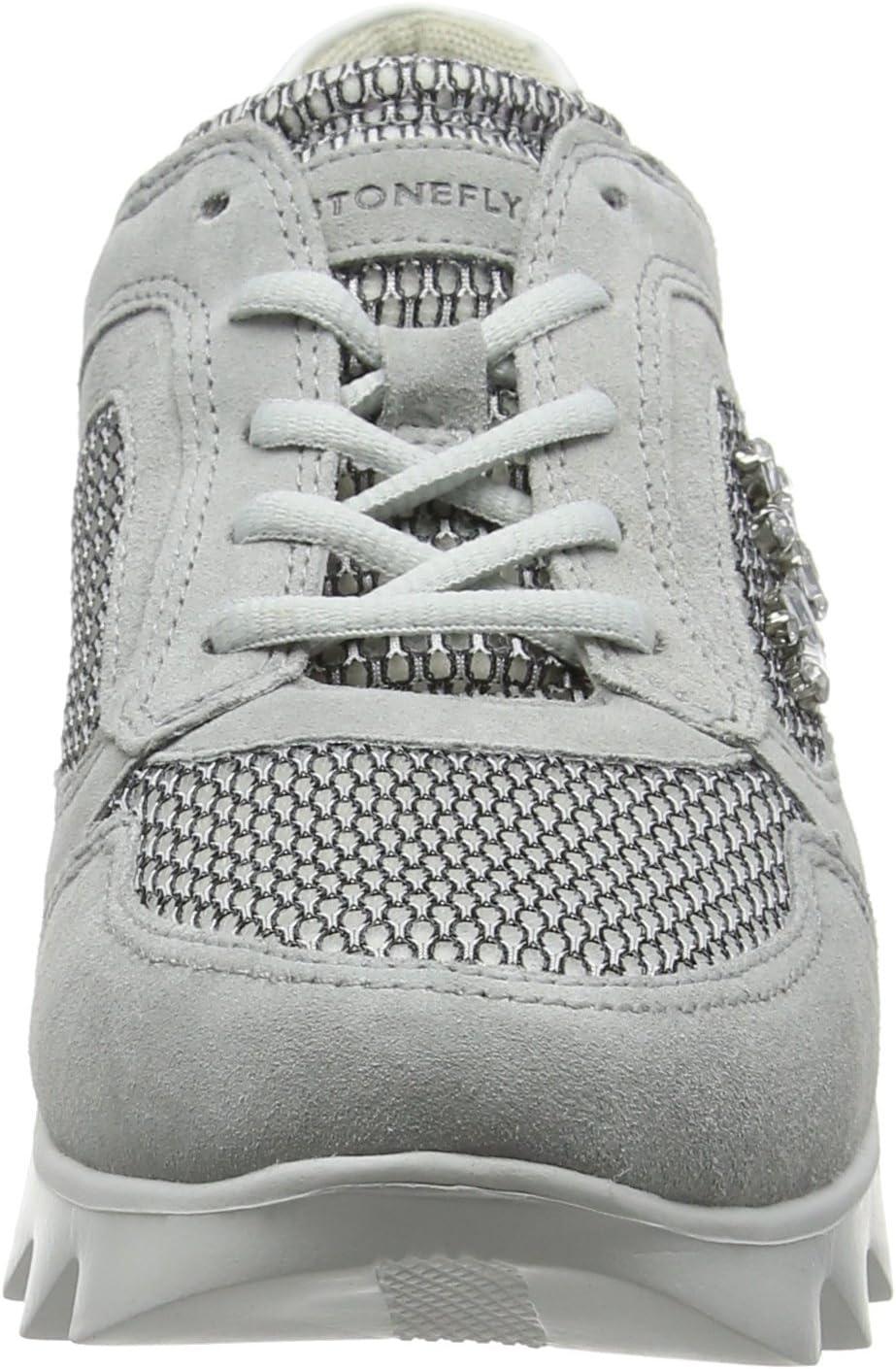 Stonefly Speedy Lady 1 Sneakers voor dames Ivoor Ice 076