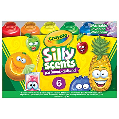 Crayola Silly Scents, Washable Kids Paint, Scented Paint, 6Count: Toys & Games