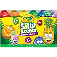 Crayola 6pk Washable Silly Scents Paints, Unisex, Children's Art & Craft Paint, Non-Toxic 3+