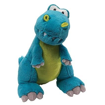 Amazon Com Gund Rexie T Rex Dinosaur Stuffed Animal Plush Blue