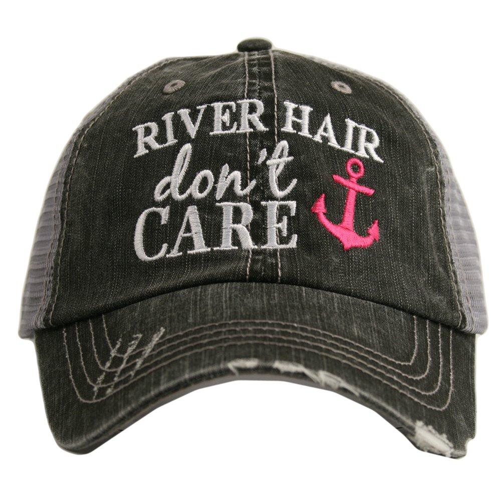 KATYDID River Hair Don't Care Anchor Women's Trucker Hat Cap
