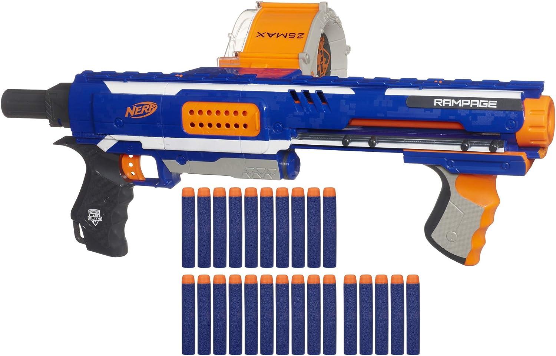 Amazon Com Nerf Rampage N Strike Elite Toy Blaster With 25 Dart