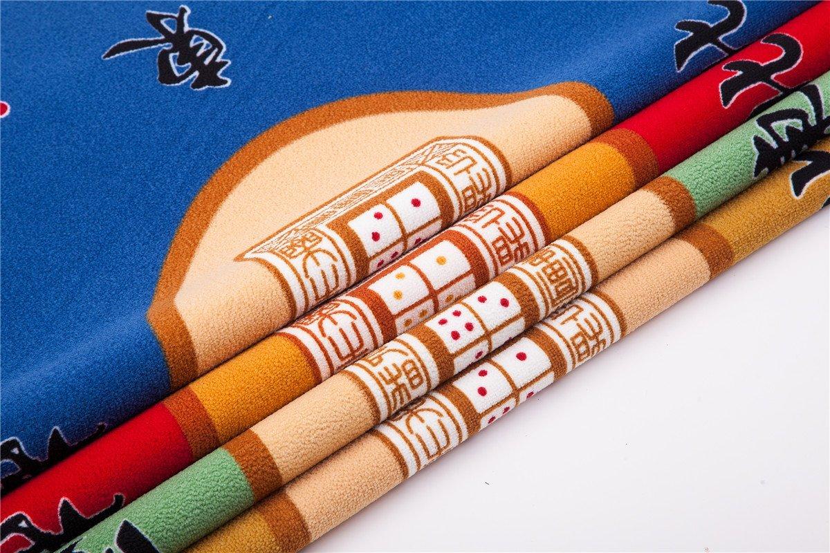 Universal Mahjong / Paigow / Card / Game Table Cover - Green Mat 31.5'' x 31.5'' (80cm x 80cm)
