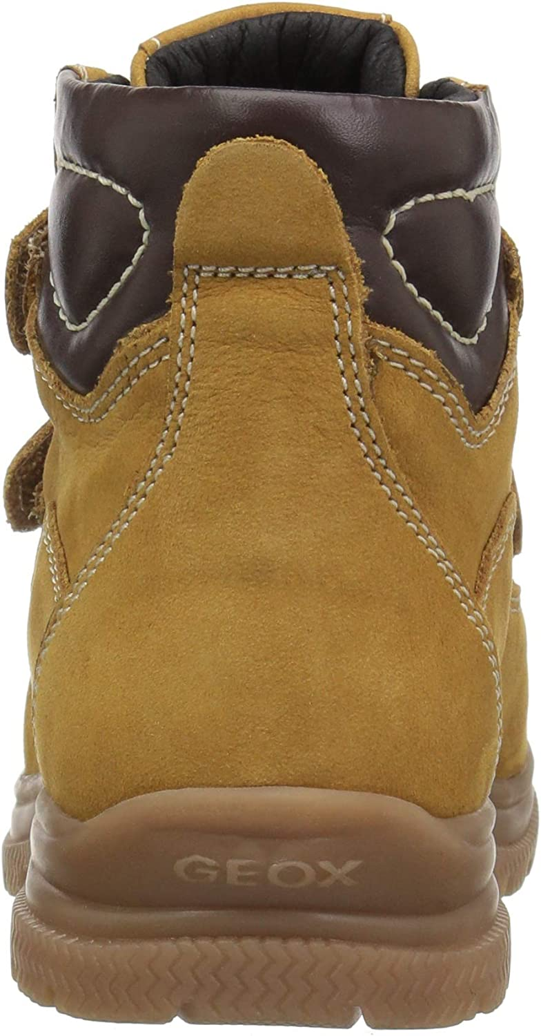 Geox Kids Navado Boy 1 Insulated Velcro Work Boot Combat