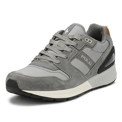 Polo Ralph Lauren TRAIN100-SK-ATH Sneakers Homme Grey 40  Amazon.fr ... 63c8958c929