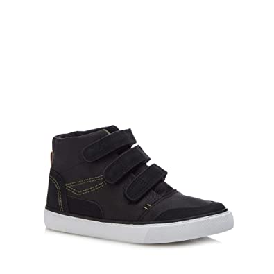 dad9d08092ef bluezoo Kids Boys  Black High Top Trainers  Amazon.co.uk  Shoes   Bags