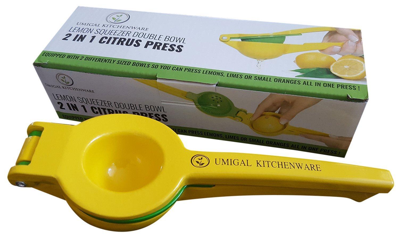 Exprimelimones de calidad profesional en acero inoxidable cítricos limón exprimidor de calidad superior prensa limón y Lima Juicer- a la mejor prensa limón ...