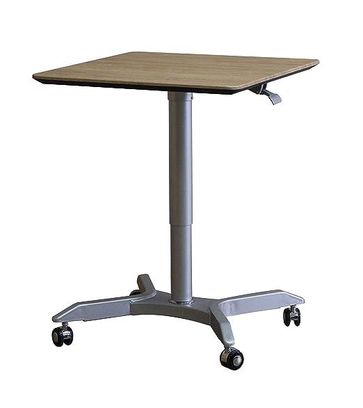 Altura ajustable soporte para portátil escritorio con ruedas ...