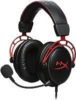 Headset Cloud Alpha, HyperX, Microfones e fones de ouvido, Vermelho