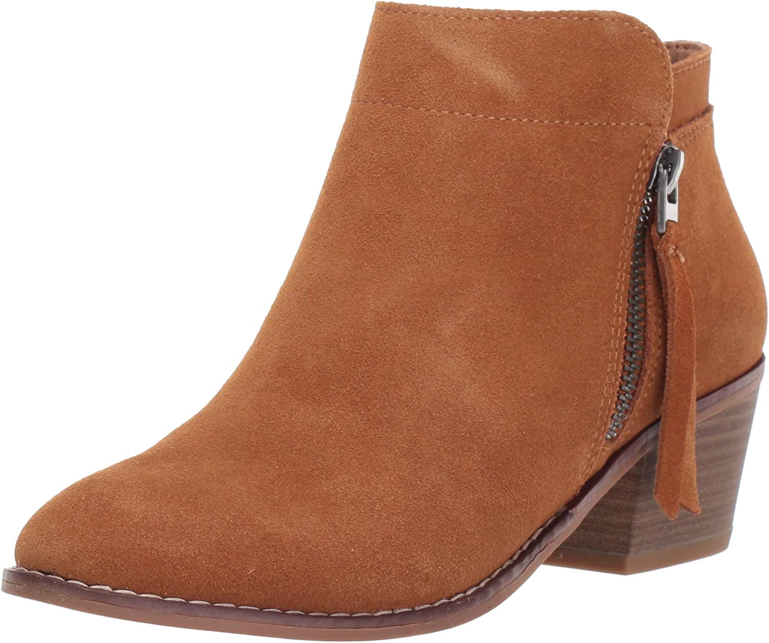 Amazon Brand - 206 Collective Women's Aria Leather Ankle Boot