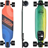 "Teamgee H8 31"" Electric Skateboard, 15 MPH Top Speed, 480W Motor, 8 Miles Range, 11.6 Lbs, 10 Layers Maple Longboard with Wireless Remote Control"