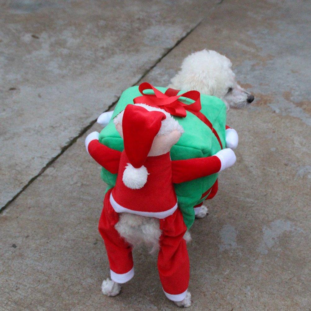 Puppy Hund Weihnachten Outfits Kleidung Katze Cosplay Wear Santa ...