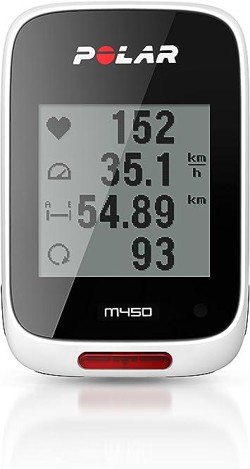 Polar M450 Pulsómetro con GPS, Unisex, Blanco: Amazon.es: Deportes ...