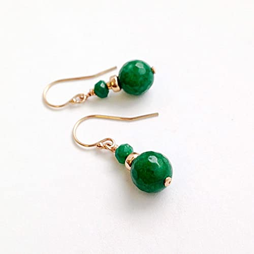 Amazon Jade Earrings 12th Anniversary Gifts For Wife Handmade