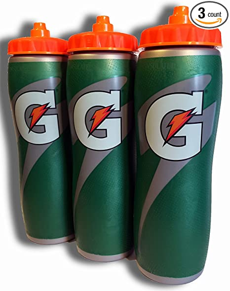 e2f5106fc5f7 Image Unavailable. Image not available for. Color  Gatorade Insulated 32oz  Water Bottle ...