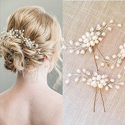 Yean - Horquillas de pelo para novia c5a7fb0bb9ba