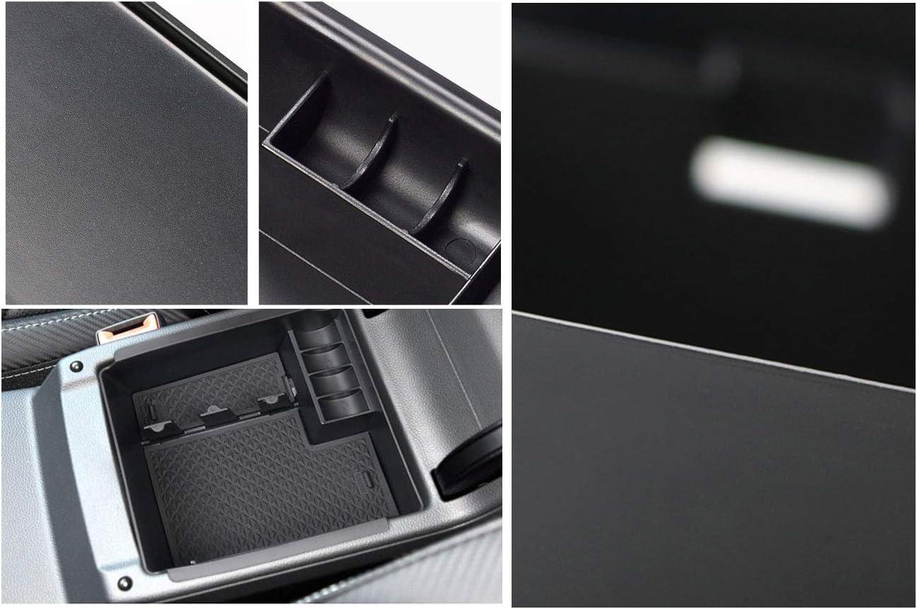 Centre Console Storage Box For Passat B8 Valiant Arteon Central Armrest Organiser Storage Box Inside Auto