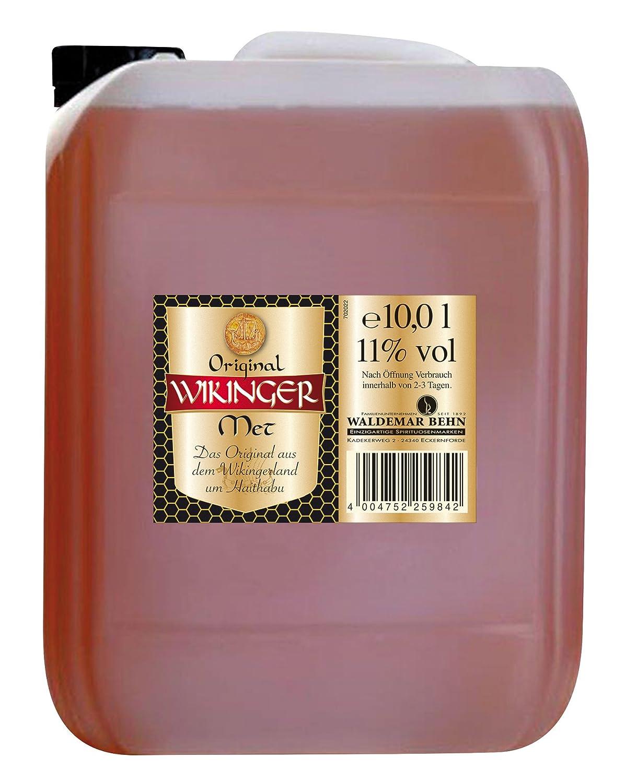 Original Wikinger Met Honigwein Kanister (1 x 10 l): Amazon.de: Bier ...