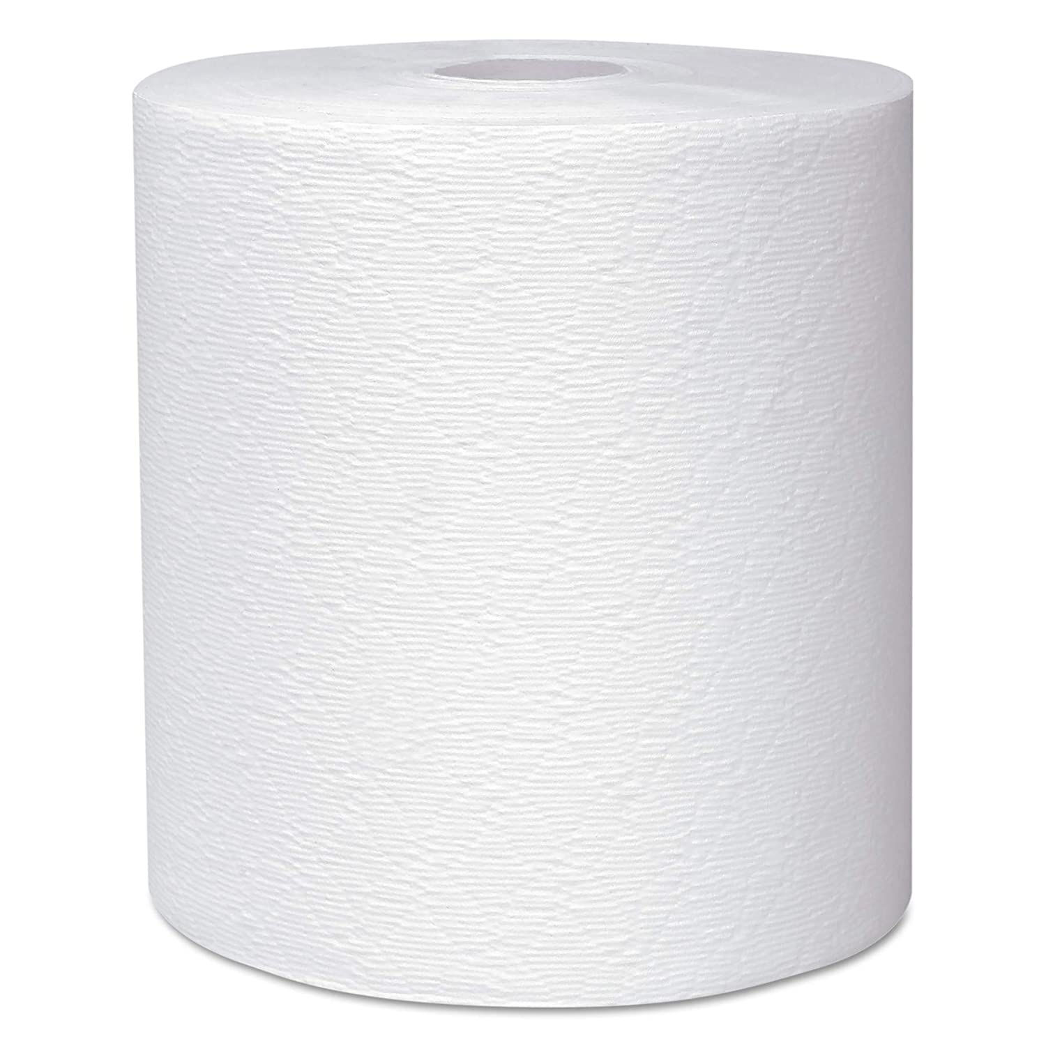 "Scott 50606 Essential Plus Hard Roll Towels 8"" x 600 ft, 1 3/4"" Core dia, White (Case of 6 Rolls)"