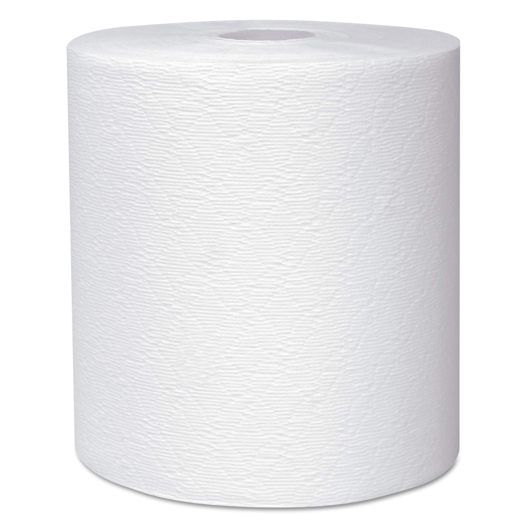 Scott 50606 Essential Plus Hard Roll Towels 8'' x 600 ft, 1 3/4'' Core dia, White (Case of 6 Rolls)