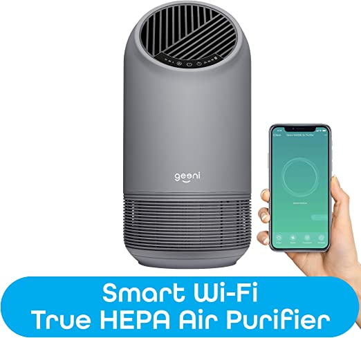 Geeni Breathe XL Smart Hub True HEPA - Purificador de aire para ...