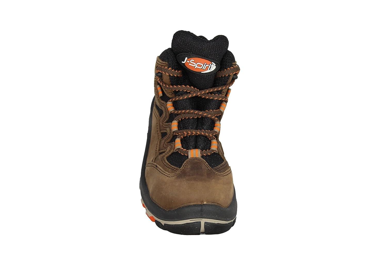 Unbekannt - Chaussures De Protection Homme Noir En Cuir Noir, Couleur Noir, Taille 47