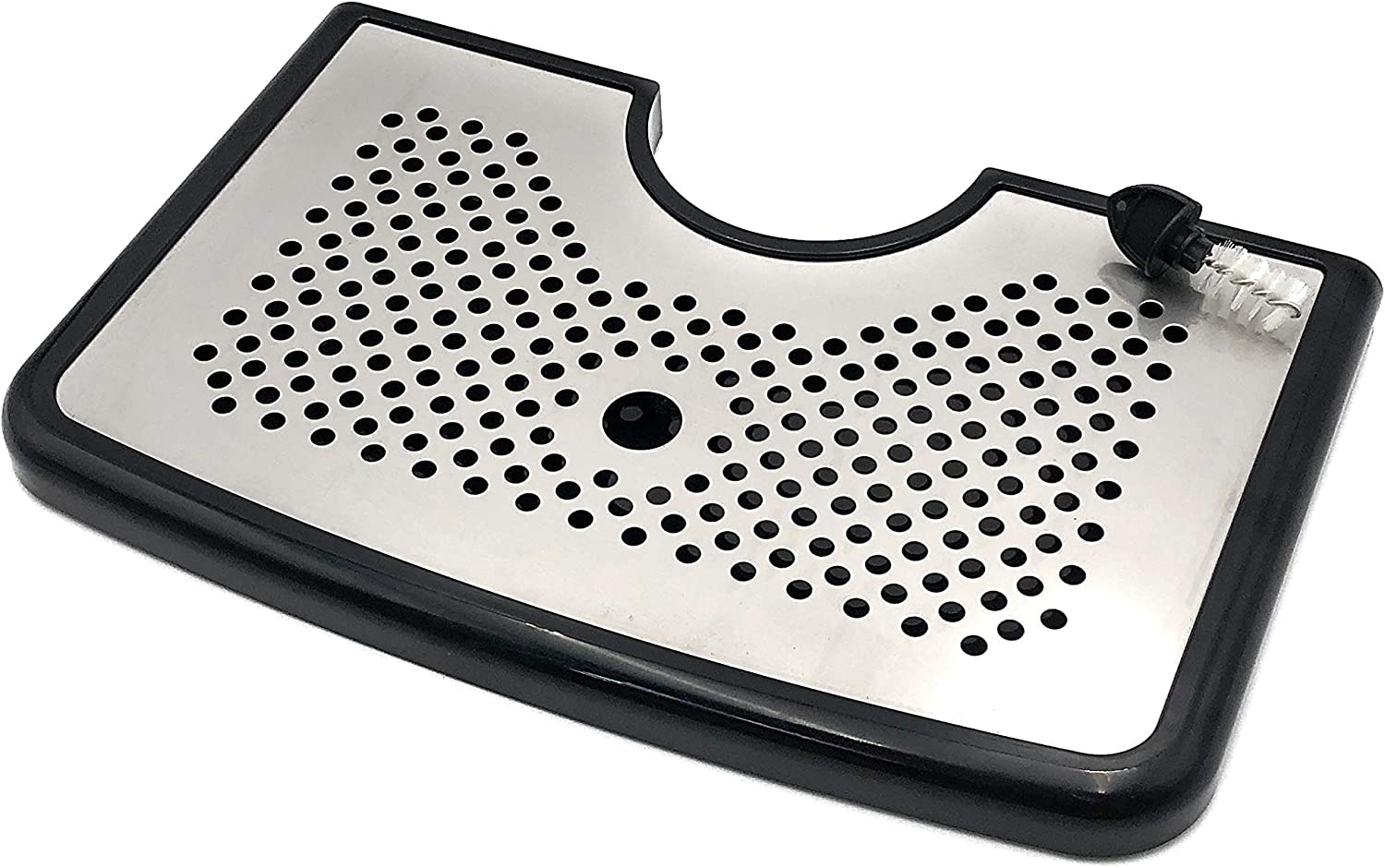 Inavua Beer Drip Tray for Homebrew Kegerators | Tap Faucet Brush Included! | THE Drip Tray for Kegerator Cleanliness | Our Kegerator Drip Trays Keep Your Homebrew In Your Glass And Off Your Counter!