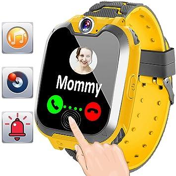 Reloj Inteligente para Niños Niñas Smartwatch con Musica Juegos SOS Cámara 1.44