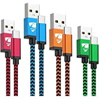 USB Type C Cable Aioneus 3A Fast Charging USB C Charger 4Pack [2+3+5+6FT] Phone Charger Cord for Samsung Galaxy A71 A51…
