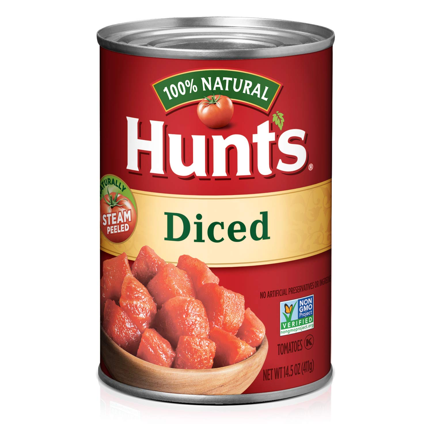 Amazon Com Hunt S Diced Tomatoes 14 5 Oz Pack Of 24 Canned And Jarred Diced Tomatoes Grocery Gourmet Food