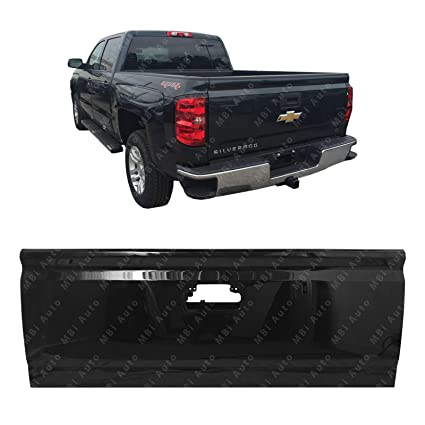 Amazon Com Mbi Auto Painted 8555 Black Steel Tailgate Shell For