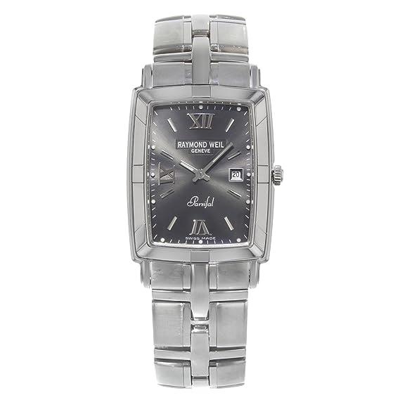 Raymond Weil Parsifal 9341-ST-00607 acero inoxidable cuarzo hombres del reloj (Certificado) de segunda mano: Raymond Weil: Amazon.es: Relojes