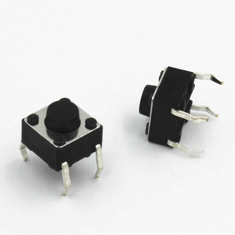 20Pcs Tactile Push Button Switch Tact Switch 6X6X5mm 4-pin  DIP