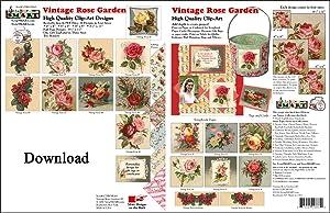 ScrapSMART - Vintage Rose Garden Software Collection for Mac [Download]