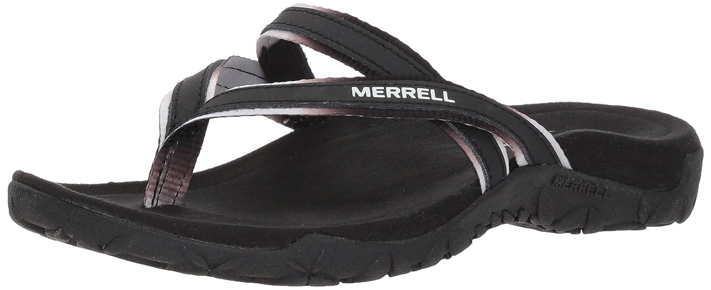 Merrell Women's Terran Ivy Post Sport Sandal B078NMHDFJ 5 B(M) US|Black