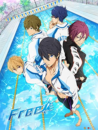 Image result for free iwatobi swim club poster